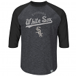 "Frank Thomas Chicago White Sox Majestic ""Tactics"" Cooperstown 3/4 Sleeve Shirt"