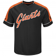 San Francisco Giants Majestic MLB Tandem Cooperstown V-Neck Men's Fashion Jersey