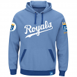 """Kansas City Royals Majestic MLB """"Forever"""" Cooperstown Hooded Sweatshirt"""