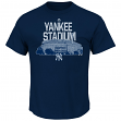 "New York Yankees Majestic MLB ""Comeback"" Cooperstown Short Sleeve Men's T-Shirt"
