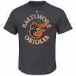 Baltimore Orioles Majestic MLB First Among Equals Cooperstown S/S Men's T-Shirt