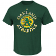 Oakland Athletics Majestic MLB First Among Equals Cooperstown S/S Men's T-Shirt