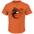 """Baltimore Orioles Majestic MLB """"Official Logo"""" Cooperstown Men's S/S T-Shirt"""