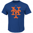 "New York Mets Majestic MLB ""Official Logo"" Cooperstown Men's S/S T-Shirt"