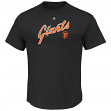 """San Francisco Giants Majestic MLB """"Series Sweep"""" Cooperstown Men's S/S T-Shirt"""