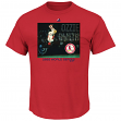 """Ozzie Smith St. Louis Cardinals MLB """"Genuine Player"""" Cooperstown S/S T-Shirt"""