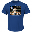 "Nolan Ryan Texas Rangers MLB ""Genuine Player"" Cooperstown S/S T-Shirt"