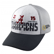 Alabama Crimson Tide TOW NCAA 2015 National Champions Adjustable Hat