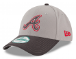 "Atlanta Braves New Era MLB 9Forty ""The League"" Adjustable Hat - Gray"