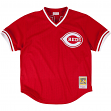 Chris Sabo Cincinnati Reds Mitchell & Ness Authentic 1990 BP Jersey