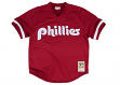 Lenny Dykstra Philadelphia Phillies Mitchell & Ness Authentic 1991 BP Jersey