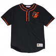 "Baltimore Orioles MLB Mitchell & Ness ""8th Inning"" Vintage Men's Baseball Shirt"