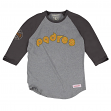 "San Diego Padres MLB Mitchell & Ness ""Top of the Inning"" Men's 3/4 Sleeve Shirt"