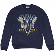 "Memphis Grizzlies Mitchell & Ness NBA ""Draft Choice"" Crew Sweatshirt - Blue"