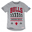 "Chicago Bulls Mitchell & Ness NBA ""Title Holder"" Extra Long Premium S/S Shirt"