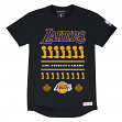 Los Angeles Lakers Mitchell & Ness NBA Title Holder Extra Long Premium S/S Shirt