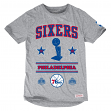 Philadelphia 76ers Mitchell & Ness NBA Title Holder Extra Long Premium S/S Shirt