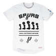 San Antonio Spurs Mitchell & Ness NBA Title Holder Extra Long Premium S/S Shirt