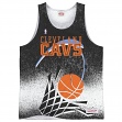 "Cleveland Cavaliers Mitchell & Ness ""Clock Violation"" Color Fade Tank Top Shirt"