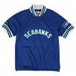 "Seattle Seahawks Mitchell & Ness NFL ""Championship"" Mesh Pullover Jacket"