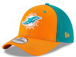Miami Dolphins New Era NFL 39THIRTY Team Front Neo Flex Fit Hat