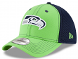 Seattle Seahawks New Era NFL 39THIRTY Team Front Neo Flex Fit Hat