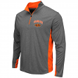 "Oklahoma State Cowboys NCAA ""Ridge Runner"" 1/4 Zip Pullover Men's Charcoal Shirt"
