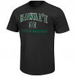 "Hawaii Warriors NCAA ""Contour"" Men's Short Sleeve Distressed T-Shirt"