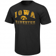 "Iowa Hawkeyes NCAA ""Contour"" Men's Short Sleeve Distressed T-Shirt"