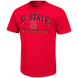 North Carolina State Wolfpack NCAA Contour Men's Short Sleeve Distressed T-Shirt