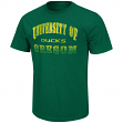 "Oregon Ducks NCAA ""Contour"" Men's Short Sleeve Distressed T-Shirt"