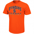 "Syracuse Orange NCAA ""Contour"" Men's Short Sleeve Distressed T-Shirt"