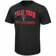 "Texas Tech Red Raiders NCAA ""Contour"" Men's Short Sleeve Distressed T-Shirt"