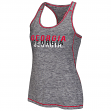 "Georgia Bulldogs Women's NCAA ""Race Course"" Performance Racer Back Tank Top"