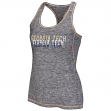 Georgia Tech Yellowjackets Women's Race Course Performance Racer Back Tank Top