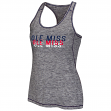 Mississippi Ole Miss Rebels Women's Race Course Performance Racer Back Tank Top
