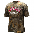 "Arkansas Razorbacks NCAA ""Realtree Trail"" Men's Camo Performance S/S T-Shirt"