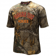 "Virginia Tech Hokies NCAA ""Realtree Trail"" Men's Camo Performance S/S T-Shirt"