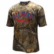 "Mississippi Ole Miss Rebels ""Realtree Trail"" Men's Camo Performance S/S T-Shirt"