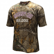 "Mississippi State Bulldogs ""Realtree Trail"" Men's Camo Performance S/S T-Shirt"
