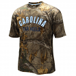"North Carolina Tarheels NCAA ""Realtree Trail"" Men's Camo Performance S/S T-Shirt"