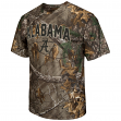 "Alabama Crimson Tide NCAA ""Realtree Xtra"" Men's Camo Performance S/S T-Shirt"