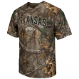 "Arkansas Razorbacks NCAA ""Realtree Xtra"" Men's Camo Performance S/S T-Shirt"
