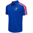 "Kansas Jayhawks NCAA ""Admiral"" Men's Performance Polo Shirt"