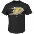 "Anaheim Ducks Majestic NHL ""Pond Hockey"" Short Sleeve Men's T-Shirt"