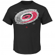 "Carolina Hurricanes Majestic NHL ""Pond Hockey"" Short Sleeve Men's T-Shirt"