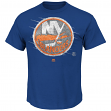 "New York Islanders Majestic NHL ""Pond Hockey"" Short Sleeve Men's T-Shirt"