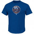 "New York Islanders Majestic NHL ""Raise the Level"" Men's Heathered S/S T-Shirt"