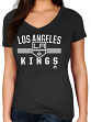 "Los Angeles Kings Women's Majestic NHL ""One Game"" V-neck T-Shirt"
