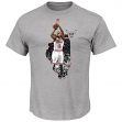 "Derrick Rose Chicago Bulls Majestic NBA ""Bigger Prize"" Player T-Shirt"